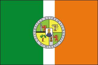 Bandera de la Universidad de Extremadura